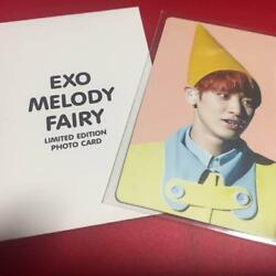 Exo Chanyeol Official Photocard Melody Fairy Lmtd Edition Photo Card