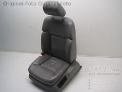 seat front Left VW Phaeton 3D2 04.02- leather Degree