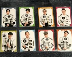 Exo Channel Adventure Fanmeeting Official Photocard Photo Card Complete 8 Set