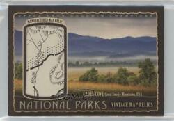 2017 Upper Deck Goodwin Champions /34 Great Smoky Mountains - Cades Cove Np-13