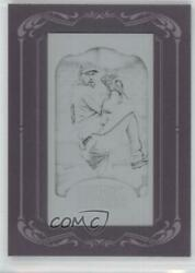 2012 Topps Gypsy Queen Printing Plate Minis Black Framed 1/1 Cliff Lee 170
