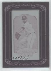 2012 Topps Gypsy Queen Printing Plate Minis Magenta Framed 1/1 Ricky Nolasco