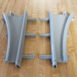 Track Switches For Disney Monorail Sets - One Pair, Left And Right Two Total