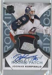 2015-16 Upper Deck The Cup /249 Joonas Korpisalo 129 Rpa Rookie Patch Auto