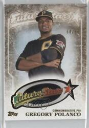 2015 Topps Future Stars Pin Manufactured Relics Vintage /99 Gregory Polanco