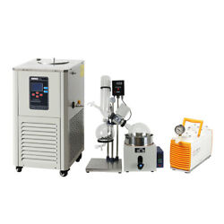 5L Rotary Evaporator Complete Turnkey Package w/Water Vacuum Pump