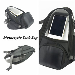 Oxford Fabric Motorcycle Tank Bag Pouch GPS Phone Holder For Sportster Universal