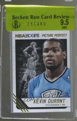 2014-15 NBA Hoops Picture Perfect #7 Kevin Durant Oklahoma City Thunder Card