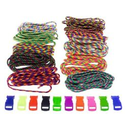 550 Paracord Combo Kit With Parachute Cord And Buckles By Paracord Planet 100ft
