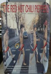 Red Hot Chili Peppers Signed Huge 40x60 Poster Bas Certified John Anthony Flea