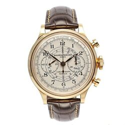 Baume & Mercier Capeland Flyback Chronograph 18ct Rose Gold Gents Watch Boxed