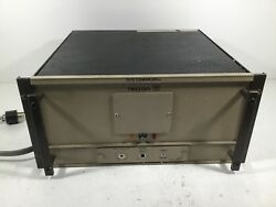 Crown Tecron 7570 Power Supply Amplifier 120V 2400W FOR PARTS OR REPAIR; Techron