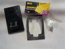 Marinco Tv97 Cable Tv Dock Outlet Black Marine Boat