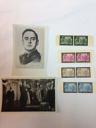 Historical Memorabilia, Salasi Fernce, Oath Of Office Photo's And Stamps, Rare.