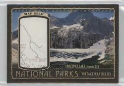 2018 Upper Deck Goodwin Champions National Parks Vintage Map Relics /90 Np-42