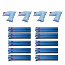 Swimline Pool Cover Corner Weights 4 Pack And Winter Cover Water Tubes 10 Pack