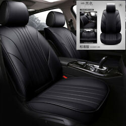 Luxury PU Leather 5Dcar-styling Universal Car Seat Covers Automotive Seat Covers