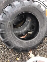 2 14.9x24 Agstar R1 Tubeless 12ply Tractor Or Backhoe Heavy Duty Tires