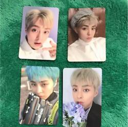 Exo Xiumin Blooming Days Official Photocard 4 Set Photo Card