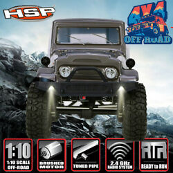 HSP 110 Scale 4wd RC Car Monster Truck Rock Off Road Cruiser 4x4 Waterproof RTR
