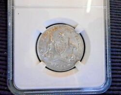 1922 Florin Australia Au About Uncirculated A Very Pleasing Coin