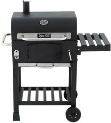 Dyna-Glo Compact Charcoal Grill in Black Charcoal Removable Tray Adjustable New