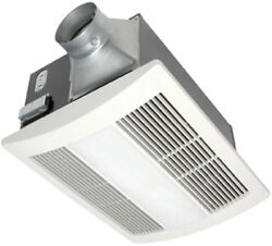 Panasonic Ceiling Exhaust Bath Fan with Light and Heater WhisperWarm 110 CFM New