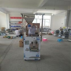 Customiz Automatic Weighing Packing Filling Particles / Powder Machine 250g Ro