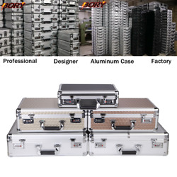 BORY Aluminum Hard Case Carrying Suitcase Home Business Toolboxes Briefcase $41.14