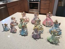 Josef Originals Birthday Angel Collectible Figurines Ages 1 To 12 Years