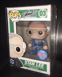 Funko Pop Stan Lee Grayandblue Superhero 03 2015 Nycc Exclusive 1500 Pcs Rare 1