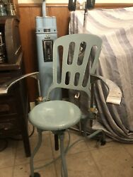 Vintage Ritter Dental Drill And Chair