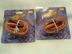 Phoenix Gold Arx.330 Qx Shielded Series Audio Cable 10and039 Qty 2 Marine Boat