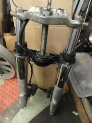Flt Good Used 1987 Up Complete Fork Assembly With Calipers 45431-85