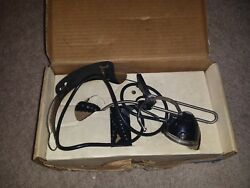 Vintage Switchboard Operator Telephone Headset Audiosears GTE Untested AS IS