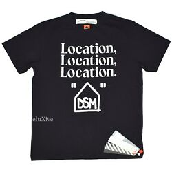 Nwt Off White Virgil Abloh X Dsmla Location Logo Opening Day T-shirt L Authentic