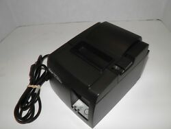 Star Tsp100 Thermal Pos Receipt Printer Ethernet With Power Cord Model 143lan