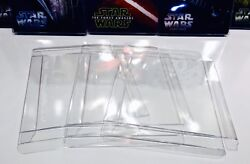 25 STEELBOOK Box Protectors Protective Sleeves Clear Plastic Cases Covers G2 $18.00
