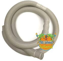 Tiki Island 1.5 X 6and039 Ft Pump Filter Flex Hose For Above Ground Pools