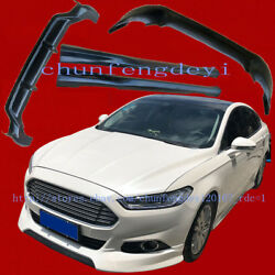 Front rear bumpers Protector Side skirt body kit for Ford Fusion Mondeo 2013-16