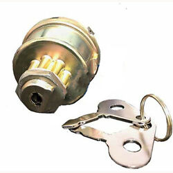 Fits Ford Tractor Gas Ignition Key Switch 2000 2600 3600 3000 4000 4600 C5nn11n5