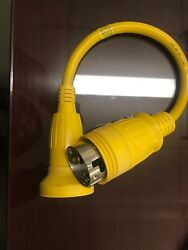 Hubbell Hbl61cm55 Adapter 30a Female To 50a 125v Male