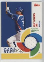 2009 Topps World Baseball Classic Game-used Memorabilia Jin Young Lee Bcr-ljy