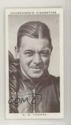 1939 Churchmanand039s Kings Of Speed Tobacco Herb Thomas 28