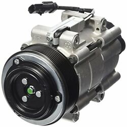Four Seasons 68182 AC Compressor with Clutch and Specific Electrical Connector
