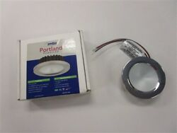 Imtra Portland Power Led Dimmable Red Light Stainless Steel 3 1/2 Marine Boat
