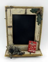 Big Sky Carvers Mountain Mooses Moose Chalkboard Brand New Free Shipping