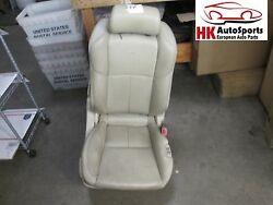 Front Right Passenger Side Bucket Seat Beige Leather Infiniti G35 Coupe 2005 05