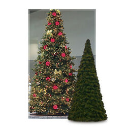 Giant Tree Prelit Tower Tall Commercial Quality Christmas Trees 10 Year Warranty