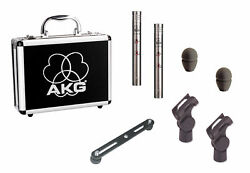 AKG C451BST Stereo Matched Pair Small Diaphragm Condenser Mic